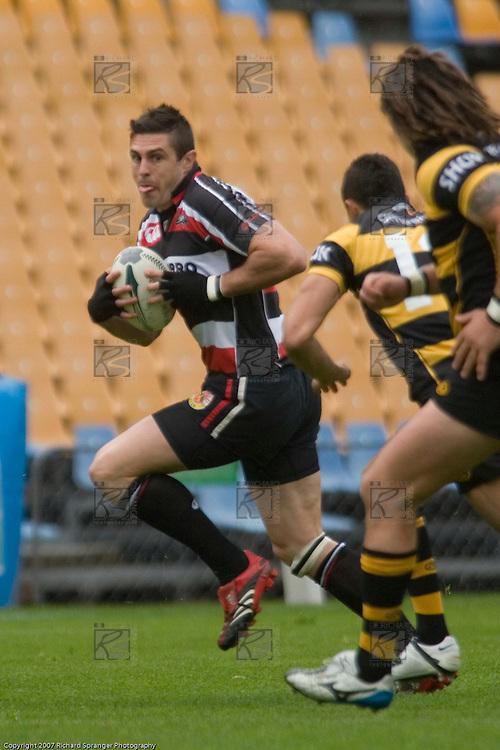 Air New Zealand Cup rugby game between Counties Manukau Steelers & Taranaki, played at Mt Smart Stadium on September 30th 2007. Taranaki won 45 - 21.