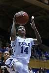29 January 2015: Duke's Ka'lia Johnson. The Duke University Blue Devils hosted the University of Pittsburgh Panthers at Cameron Indoor Stadium in Durham, North Carolina in a 2014-15 NCAA Division I Women's Basketball game. Duke won the game 62-45.
