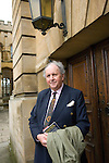 Alexander McCall Smith at the Sheldonian Theatre during the Sunday Times Oxford Literary Festival, UK, 16 - 24 March 2013. <br />