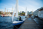 The Center for Wooden Boats in South Lake Union offers sailing classes, lessons, art exhibits and plenty of nautical history. Photo by Daniel Berman