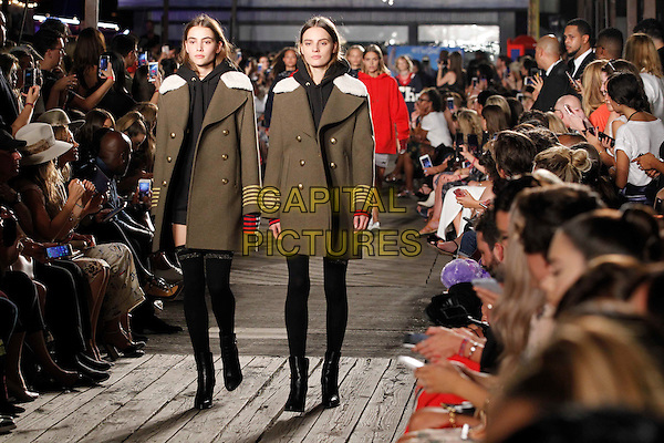 TOMMY HILFIGER<br /> New York Fashion Week<br /> Ready to Wear, Spring Summer 16/17<br /> on September 09, 2016<br /> CAP/GOL<br /> &copy;GOL/Capital Pictures