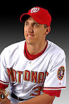 25 February 2007: Washington Nationals pitcher Ryan Wagner poses for his Photo Day portrait at Space Coast Stadium in Viera, Florida.<br /> <br /> Mandatory Photo Credit: Ed Wolfstein Photo<br /> <br /> Note: This image is available in a RAW (NEF) File Format - contact Photographer.