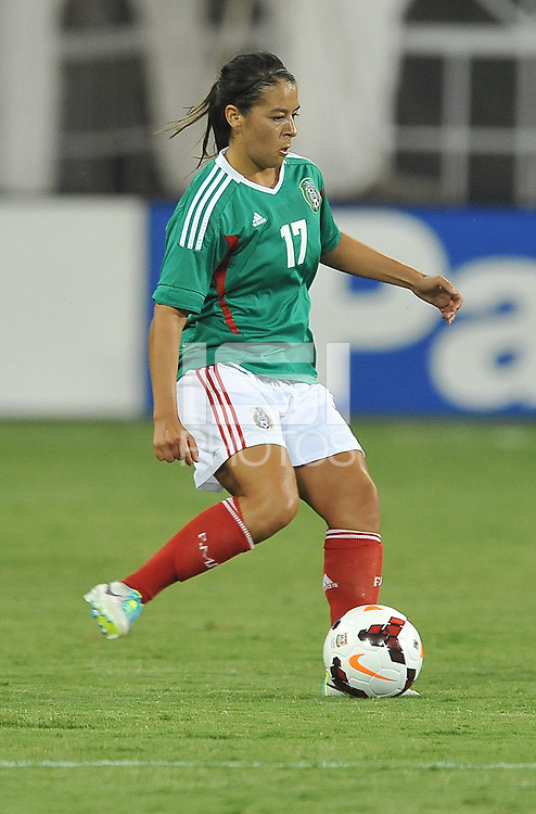 Veronica Perez (17) of Mexico. The USWNT defeated Mexico 7-0 during an international friendly, at RFK Stadium, Tuesday September 3 , 2013.