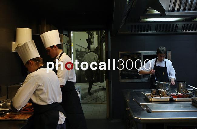 El Celler de Can Roca  on April 30, 2013..El celler de Can Roca is restaurant in Girona , Catalonia, witch was opened in 1986 bu the Roca brothers, Joan , Josep and Jordi. PHOTO/PDQG.