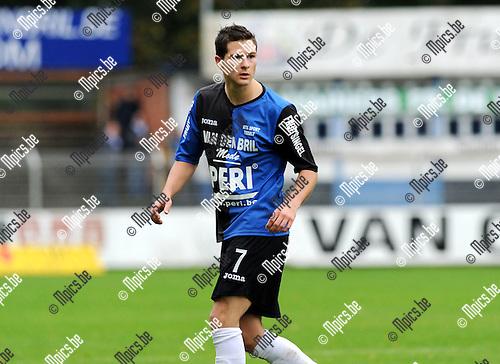 2011-10-09 / Voetbal / seizoen 2011-2012 / Rupel-Boom / Dries Ventose..Foto: Mpics