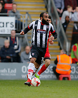 Grimsby Town's Dominic Vose on the ball during the Sky Bet League 2 match between Leyton Orient and Grimsby Town at the Matchroom Stadium, London, England on 11 March 2017. Photo by Carlton Myrie / PRiME Media Images.