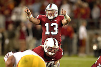 4 November 2006: T.C. Ostrander during Stanford's 42-0 loss to USC at Stanford Stadium in Stanford, CA.