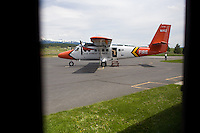 Twin-otter U.S. Forest Service fire plane used to transport smokejumpers throughout the region and the rest of the country.