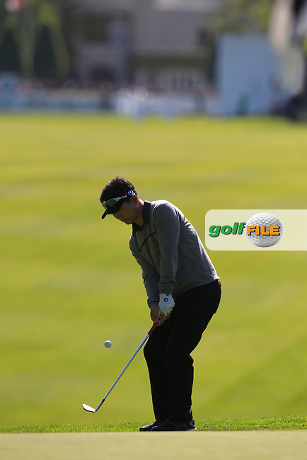 YE YANG (KOR) during round 1 of the 2015 BMW PGA Championship over the West Course at Wentworth, Virgina Water, London. 21/05/2015<br /> Picture Fran Caffrey, www.golffile.ie: