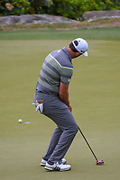Jon Rahm (ESP) barely misses his birdie putt on 2 during day 3 of the WGC Dell Match Play, at the Austin Country Club, Austin, Texas, USA. 3/29/2019.<br /> Picture: Golffile | Ken Murray<br /> <br /> <br /> All photo usage must carry mandatory copyright credit (© Golffile | Ken Murray)