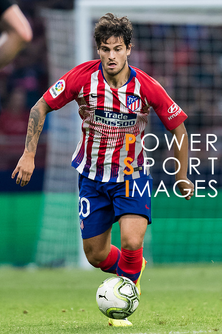 Roberto Olabe of Atletico de Madrid in action during their International Champions Cup Europe 2018 match between Atletico de Madrid and FC Internazionale at Wanda Metropolitano on 11 August 2018, in Madrid, Spain. Photo by Diego Souto / Power Sport Images