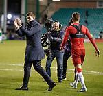 20.12.2019 Hibs v Rangers: Steven Gerrard