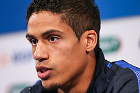 Raphael Varane (Real Madrid) of France during French Press Conference at Clairefontaine-en-Yvelines, Paris, France  on 12 June 2017 ahead of France's friendly International game against England on 13 June 2017. Photo by David Horn/PRiME Media Images.