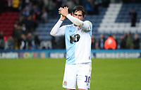 Blackburn Rovers' Danny Graham at the end of todays match<br /> <br /> Photographer Rachel Holborn/CameraSport<br /> <br /> The EFL Sky Bet Championship - Blackburn Rovers v Aston Villa - Saturday 15th September 2018 - Ewood Park - Blackburn<br /> <br /> World Copyright &copy; 2018 CameraSport. All rights reserved. 43 Linden Ave. Countesthorpe. Leicester. England. LE8 5PG - Tel: +44 (0) 116 277 4147 - admin@camerasport.com - www.camerasport.com