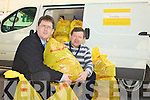 DAYLIGHT ROBBERY: Sean Scally Fundraising Manager with Enable Ireland Kerry Services and Johnny Foley clothes collection driver with Enable Ireland are shocked that Enable Ireland Clothing bags are being taking by thieves in broad daylight.