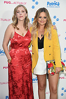 "Beattie Edmondson and Emily Atack<br /> arriving for the ""Patrick"" UK premiere, London<br /> <br /> ©Ash Knotek  D3411  27/06/2018"