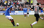 Sone Aluko scores with a rasping volley