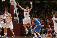 STANFORD, CA - JANUARY 9:  Drew Shiller of the Stanford Cardinal during Stanford's 70-59 win over the UCLA Bruins on January 9, 2009 at Maples Pavilion in Stanford, California.