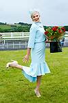 Margaret Hynes Cahill (from Ardfert, Kerry) won Best Dressed Lady title at the  Ladies Day at Listowel Summer Race meeting on Sunday