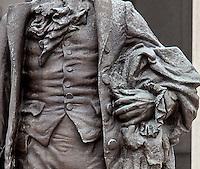Alexander Hamilton Statue US Treasury Department Washington DC