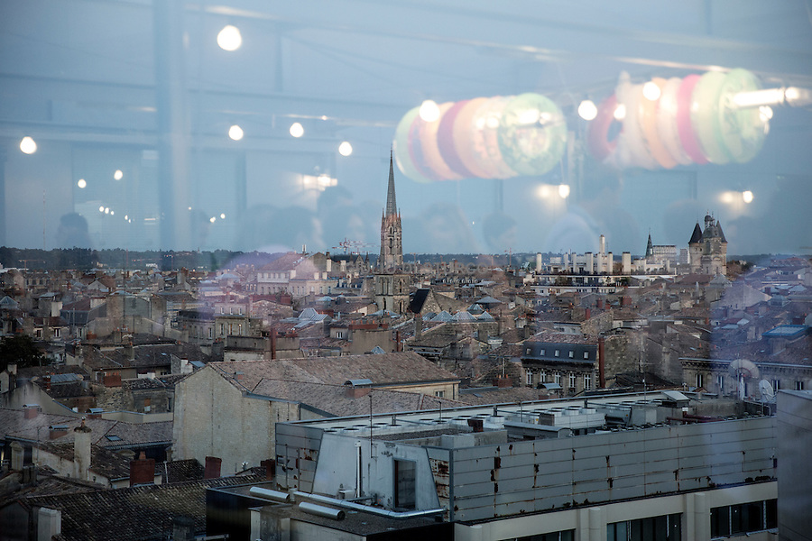 Top view of Bordeaux