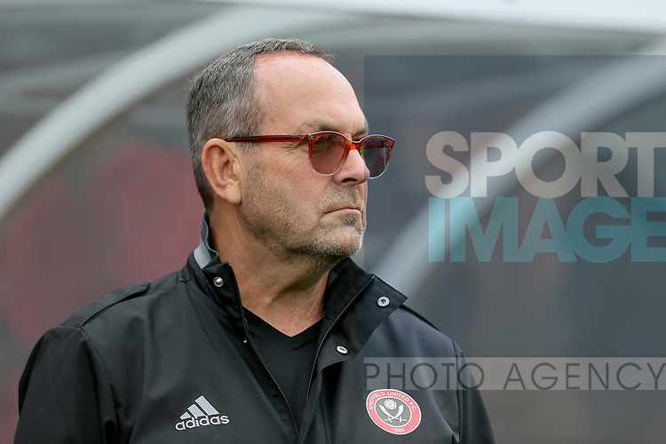 Mick Wadsworth Senior Youth Development Coach of Sheffield Utd during the pre season match at the Flamingo Land Stadium, Scarborough. Picture date 15th July 2017. Picture credit should read: Richard Sellers/Sportimage