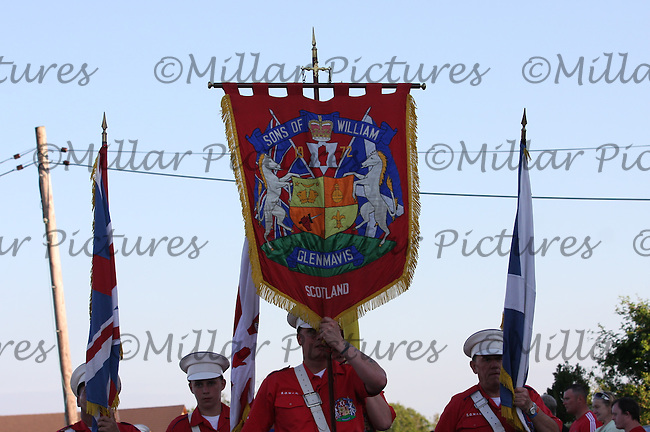 Sons of William Flute Band, Glenmavis