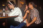 Cromwellian Club. Cromwell Road Kensington London 1983. Sloane Rangers. 1980s Britain.<br /> <br /> The man is Tom Varcoe.Thanks Cecilia Varcoe.