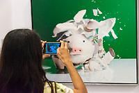 SÃO PAULO, SP, 14.01.2019 - CULTURA-SP - Público durante último dia da Exposição 50 anos de Realismo - do fotorrealismo à realidade virtual, no Centro Cultural Banco do Brasil na região Central de São Paulo na manhã desta segunda-feira, 14. (Foto: Anderson Lira / Brazil Photo Press)