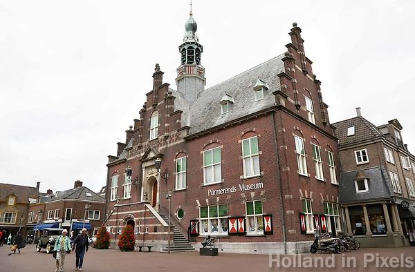 Nederland Purmerend  juni  2018. Het oude Stadhuis van Purmerend, tegenwoordig het Purmerends Museum.   Foto Berlinda van Dam / Hollandse Hoogte