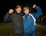 Andy Smith with his goalscorer son Jack Smith