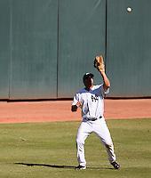 Phoenix Solar Sox outfielder Rob Segedin #30 during an Arizona Fall League game against the Mesa Solar Sox at Phoenix Municipal Stadium on October 31, 2011 in Phoenix, Arizona.  Mesa defeated Phoenix 3-1.  (Mike Janes/Four Seam Images)
