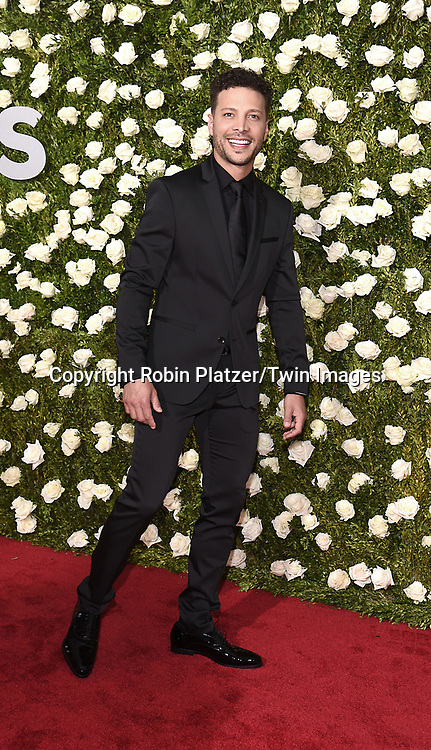 Justin Guarini attends the 71st Annual  Tony Awards on June 11, 2017 at Radio City Music Hall in New York, New York, USA.<br /> <br /> photo by Robin Platzer/Twin Images<br />  <br /> phone number 212-935-0770