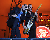WEST PALM BEACH - MAY 02: Chester Bennington and Robert DeLeo of Stone Temple Pilots perform during Day 4 of Sunfest on May 2, 2015 in West Palm Beach, Florida.(Photo By Larry Marano (C) 2015