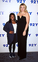 NEW YORK, NY November 18:Simone Biles, Daphne Oz at 92Y presents 2016 Olympic Gold Medalist Simone Biles in Conversation with Daphne Oz  at the 92nd Street Y in New York City.November 18, 2016. Credit:RW/MediaPunch