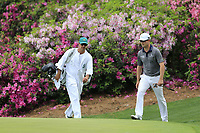 Zach Johnson (USA) on the 13th green during the 1st round at the The Masters , Augusta National, Augusta, Georgia, USA. 11/04/2019.<br /> Picture Fran Caffrey / Golffile.ie<br /> <br /> All photo usage must carry mandatory copyright credit (© Golffile | Fran Caffrey)