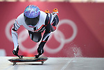 Mirela Rahneva (CAN). Womens Skeleton training. Pyeongchang2018 winter Olympics. Olympic sliding centre. Alpensia. Pyeongchang. Republic of Korea. 07/02/2018. ~ MANDATORY CREDIT Garry Bowden/SIPPA - NO UNAUTHORISED USE - +44 7837 394578