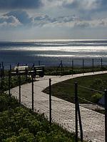 Sonnenaufgang auf dem Oberland, Helgoland, Schleswig-Holstein, Deutschland, Europa<br /> Sunrise at Oberland, Helgoland island, district Pinneberg, Schleswig-Holstein, Germany, Europe