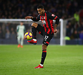 2nd February 2019, Cardiff City Stadium, Cardiff, Wales; EPL Premier League football, Cardiff City versus AFC Bournemouth; Joshua King of Bournemouth controls the high ball