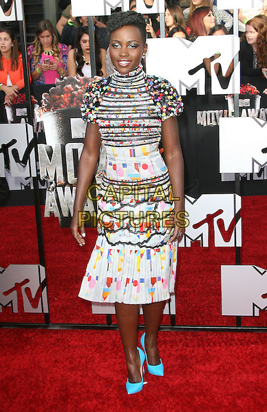 13 April 2014 - Los Angeles, California - Lupita Nyong'o. 2014 MTV Movie Awards held at Nokia Theatre L.A. Live. <br /> CAP/ADM<br /> &copy;AdMedia/Capital Pictures