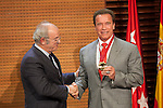 20140926 Arnold Schwarzenegger receives the `Madrid Destino´ ambassador medal