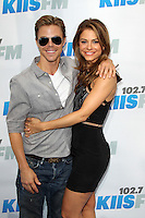 "LOS ANGELES - MAY 12:  Derek Hough, Maria Menounos arrives at the ""Wango Tango"" Concert at The Home Depot Center on May 12, 2012 in Carson, CA"