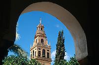 Spanien, Andalusien,  Mezquita in Cordoba, im 16.17. Jh. wurde die Kathedrale in die Moschee La Mezquita aus dem 8. Jh. gebaut, Unesco-Weltkulturerbe