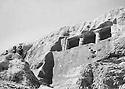 Iran 1961 <br /> Fagrada: An early Madian tomb near Mahabad  Iran 1961 <br /> A Fagrada, tomb sur un site archeologic pres de Mahabad