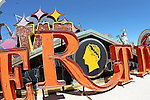 City of Las Vegas celebrates the Grand Opening of Neon Boneyard Park, and ground beaking of the La Concha visitors Center , with tour of the Neon Graveyard of historical Las Vegas Neon signs