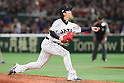Naoki Miyanishi (JPN), <br /> MARCH 15, 2017 - WBC : <br /> 2017 World Baseball Classic <br /> Second Round Pool E Game <br /> between Japan - Israel <br /> at Tokyo Dome in Tokyo, Japan. <br /> (Photo by YUTAKA/AFLO SPORT)