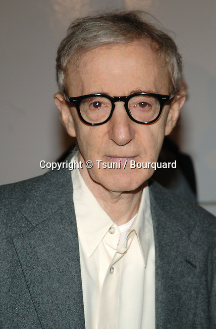 Woody Allen arriving at the MATCH POINT Premiere at the Los Angeles County Museum of Art (LACMA) in Los Angeles. December 8, 2005.