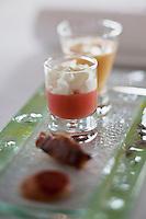 Europe/France/Bretagne/56/Morbihan/Port-Louis:  recette de Patrice Gahinet - Restaurant: Avel-Vor  -  Amuse-bouche
