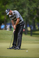 Sergio Garcia (ESP) watches his putt on 1 during Round 2 of the Zurich Classic of New Orl, TPC Louisiana, Avondale, Louisiana, USA. 4/27/2018.<br /> Picture: Golffile | Ken Murray<br /> <br /> <br /> All photo usage must carry mandatory copyright credit (&copy; Golffile | Ken Murray)