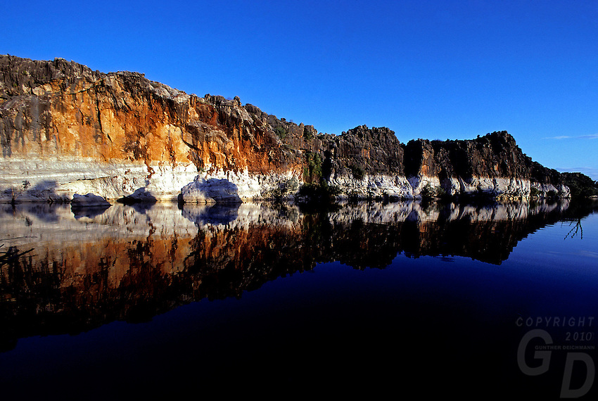 Images from the Book Journey Through Colour and Time - Geiki Gorge in North Western Australia is an ancient reef